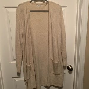 Madewell Cardigan Duster